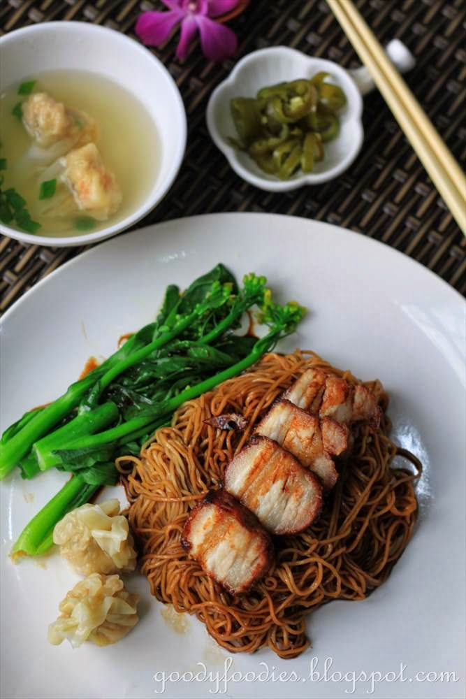 ... Recipe: Dry Wonton Noodles (Konlo Wantan Mee) with Homemade Char Siu
