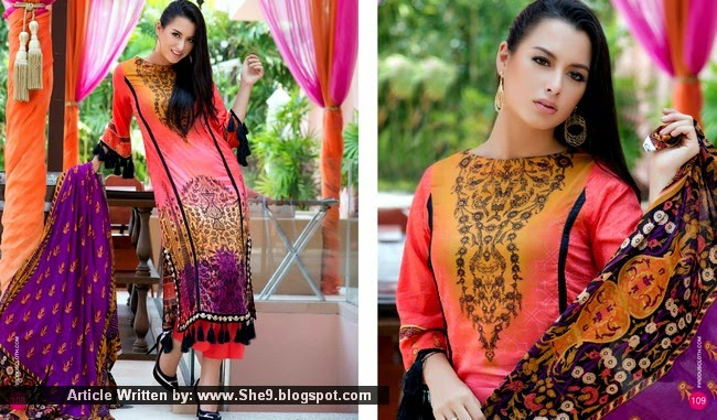 Firdous Lawn Collection 2015 Vol. 2