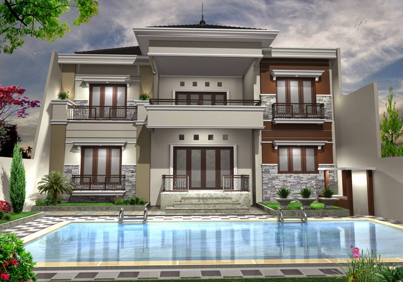 gambar rumah mewah minimalis ini siap menginspirasi anda