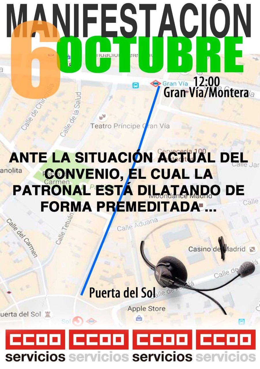 6 octubre Manifestación