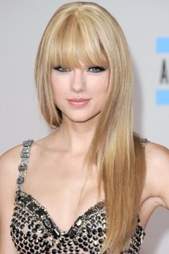 Taylor Swift Straight Hair