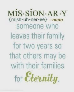 Missionary....