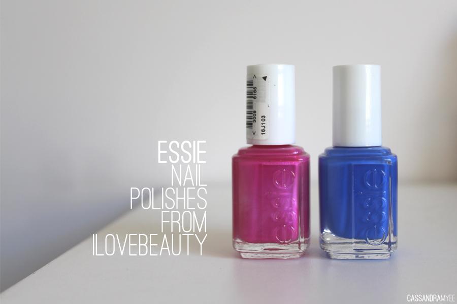 ESSIE   Nail Polishes from ilovebeauty   CassandraMyee   NZ Beauty Blog