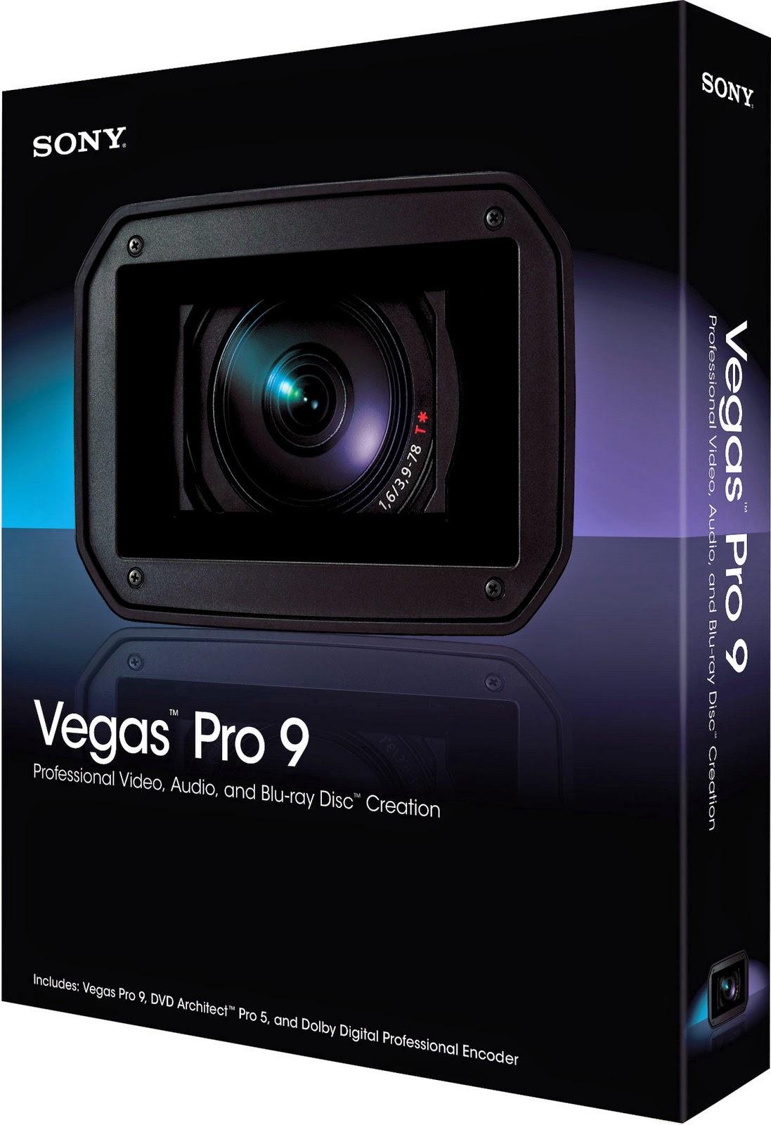 Sony VEGAS PRO 9 - Software audio professionale. Нажмите на эту ссылку, чт