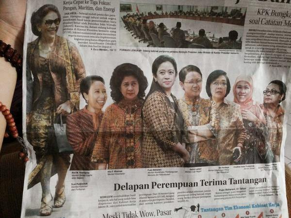 Foto-Foto Kabinet Kerja Jokowi