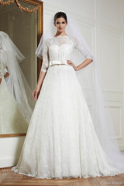 2016 wedding dresses and trends zuhair murad fall winter for Zuhair murad 2014 wedding dresses