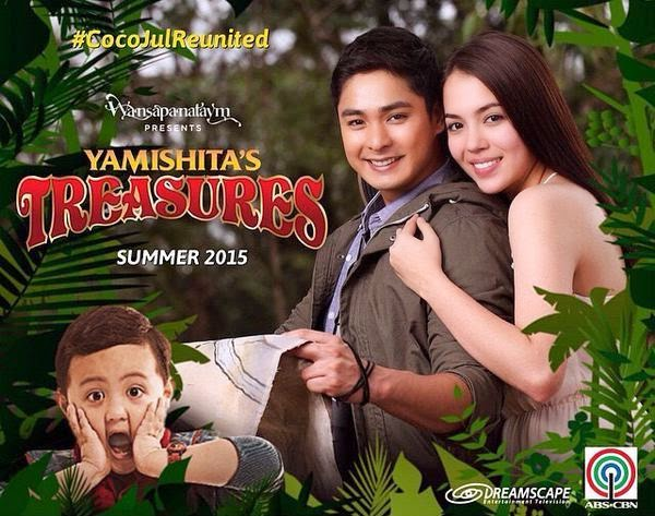 Coco Martin and Julia Montes reunite in Wansapanataym's Yamashita's Treasures