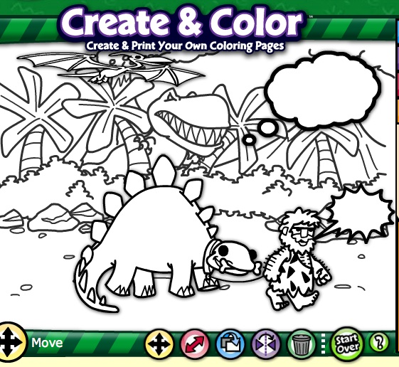 Make Story Prompts with Crayola's Create and Color