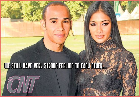 Nicole Scherzinger revived again with Lewis Hamilton