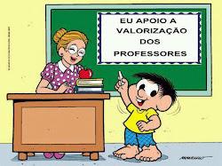 VALORIZAÇÃO DOS PROFESSORES