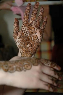 Hand-mehandi