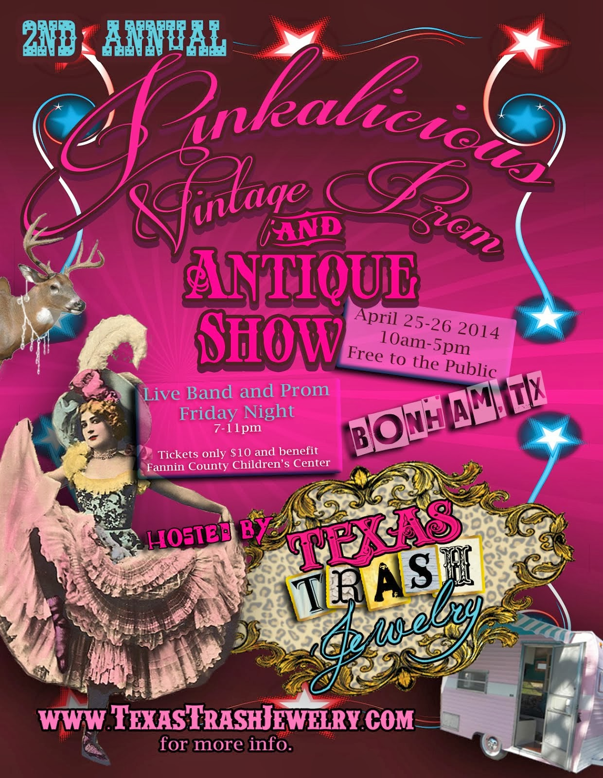 PINKALICIOUS PROM AND VINTAGE SHOW