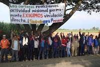 (Fotos) Resistencia civil de corteros despedidos de Ingenio La Cabaa