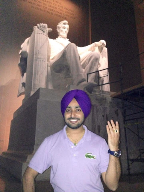 Satinder Sartaj Reached at The Capital of States Washington DC