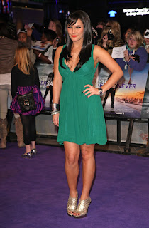 Sam Faiers at the Never Say Never London Premiere