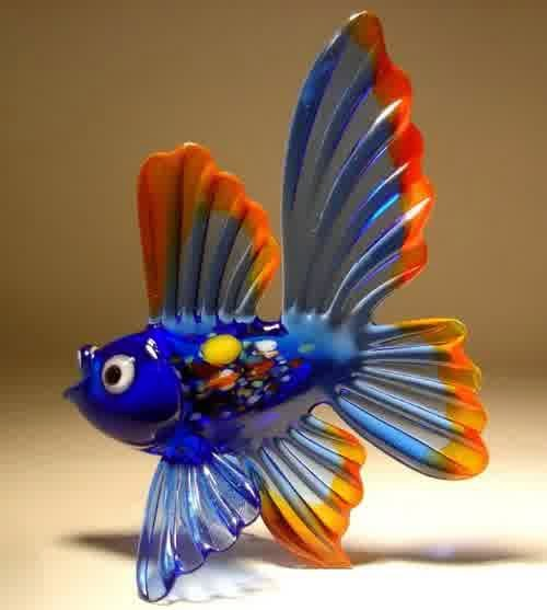 'animal marine'  glass blowers art