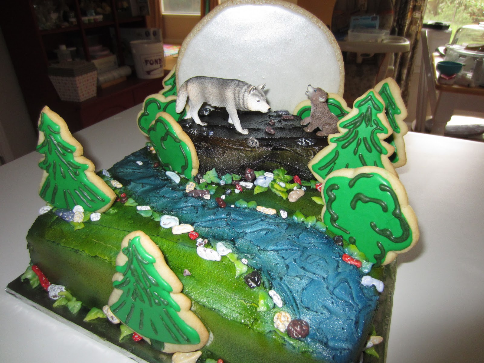 Cakes Wolf Cake Cake Ideas And Designs