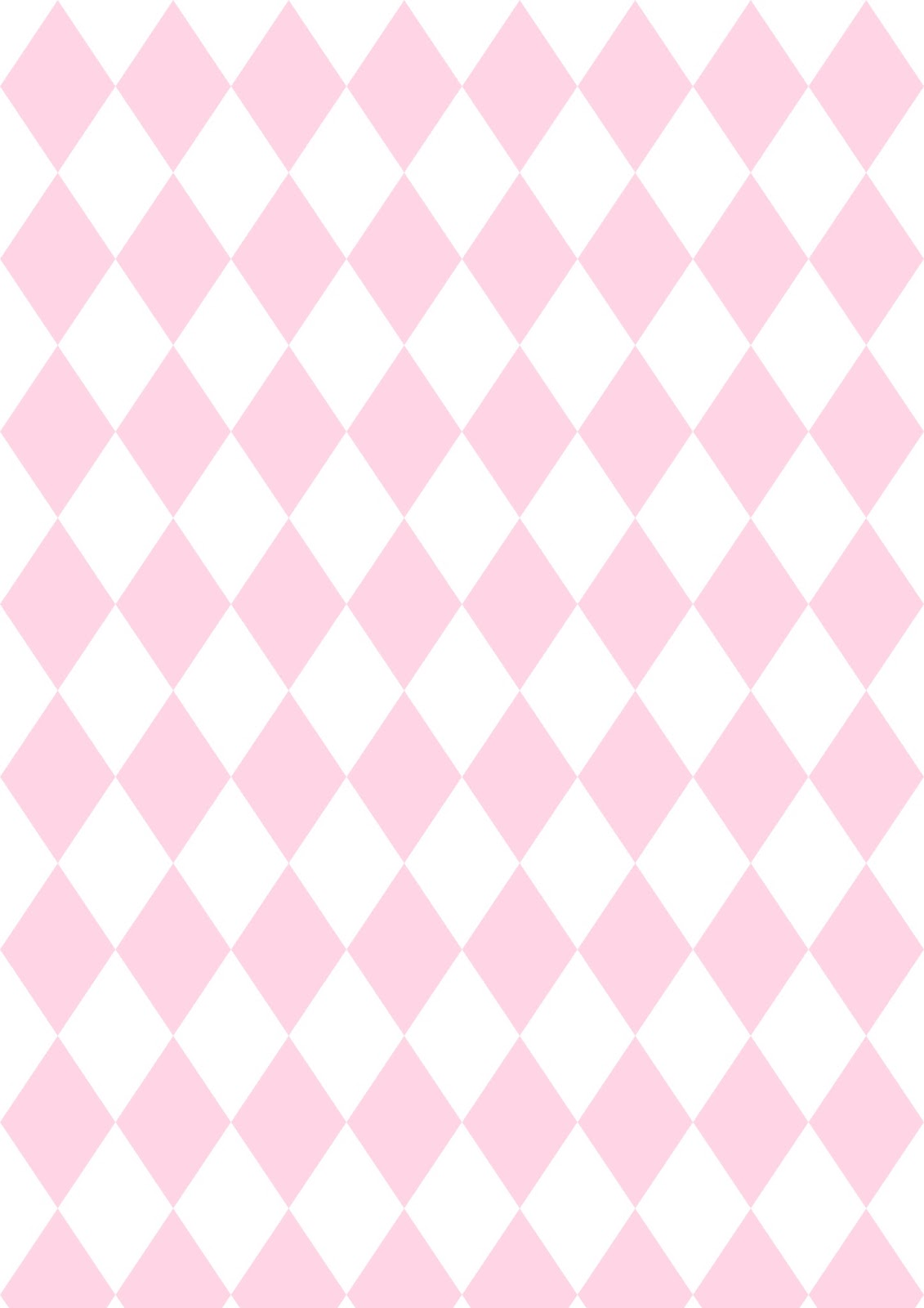 Free Digital Pink Harlequin Scrapbooking Paper