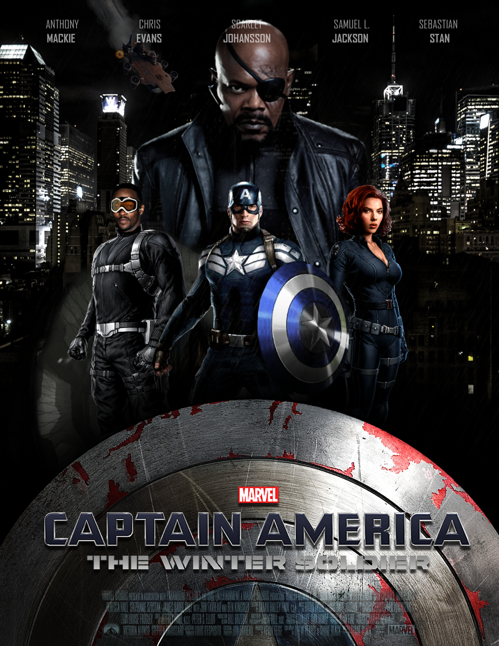 Full Movie Captain America: The Winter Soldier High Quality