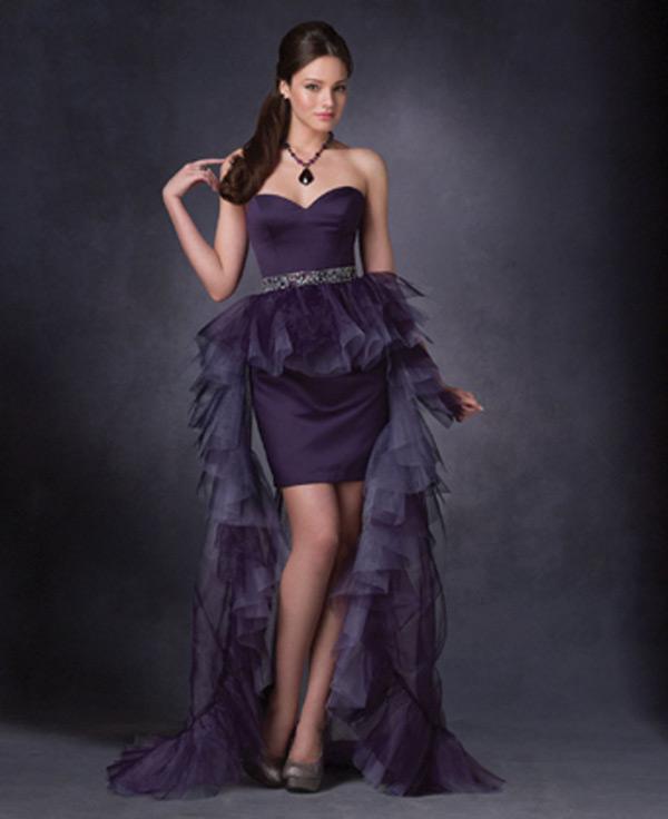 Vampire Inspired Prom Dresses 8