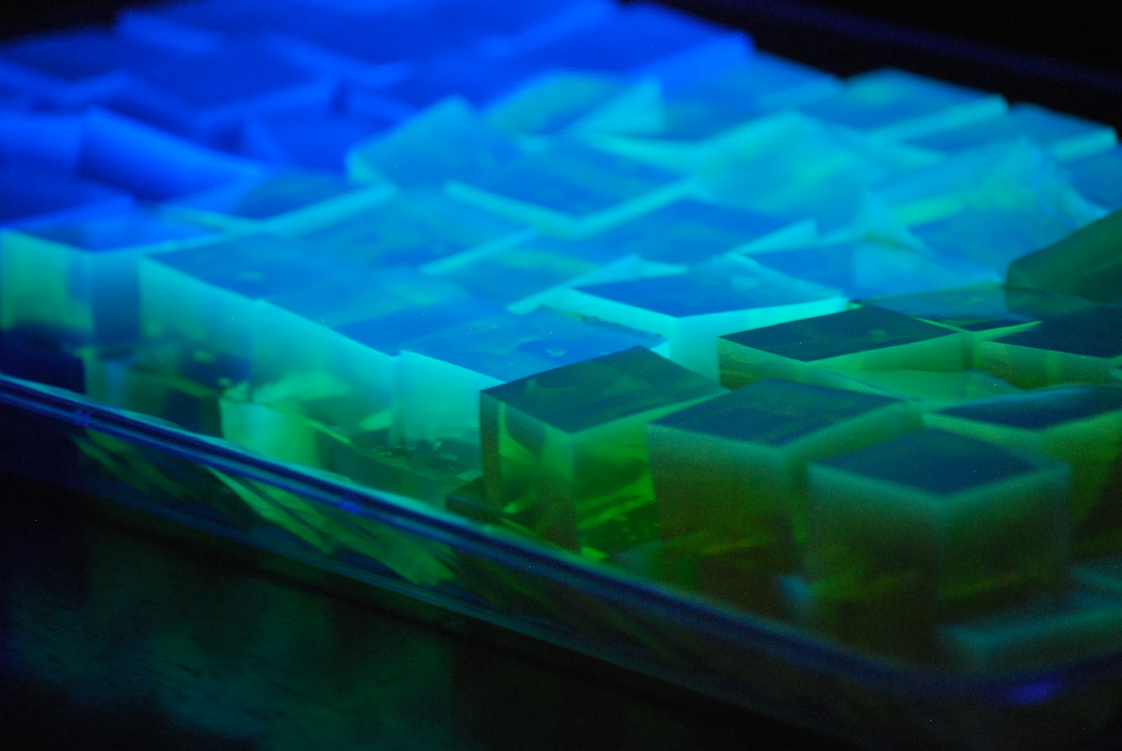 My story in recipes: Glow in the Dark Jello Squares