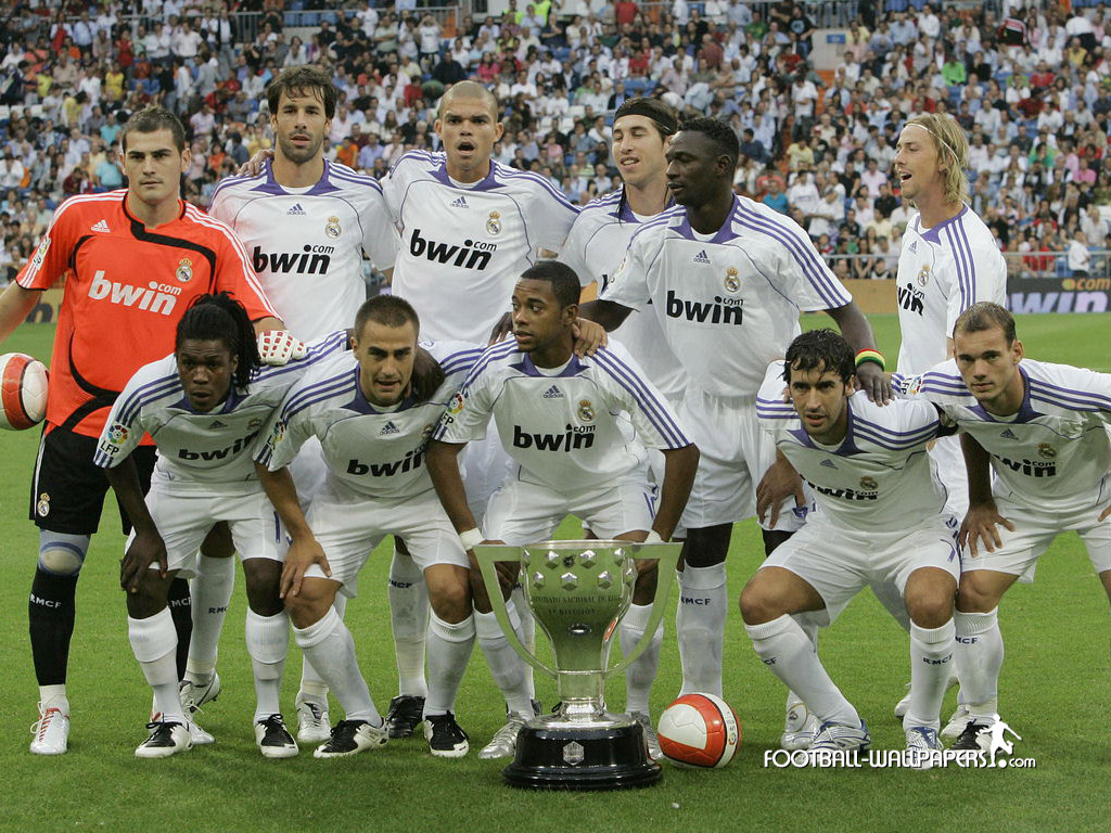 real madrid full squad Photo