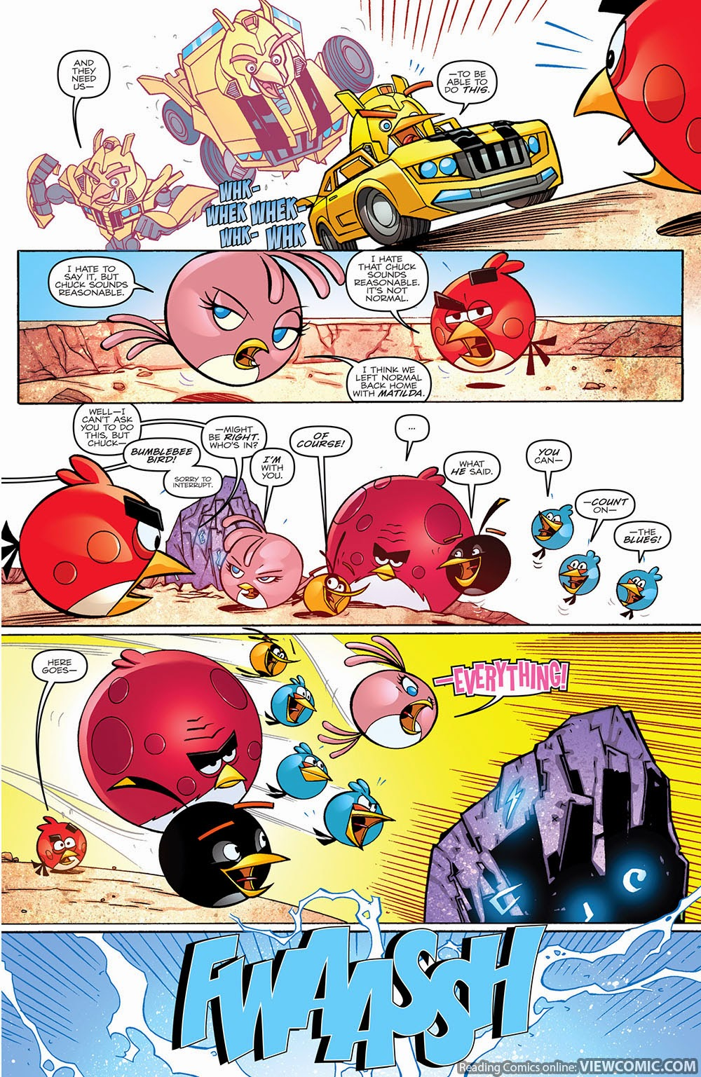 angry birds transformers 002 2014 u2026 u2026 u2026 u2026 viewcomic reading