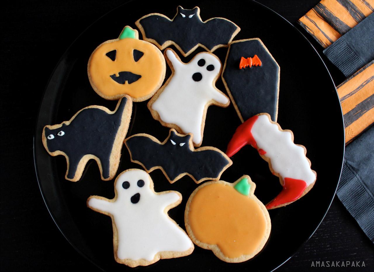 Descubriendo Pequemundos Galletas terrorficas para Halloween