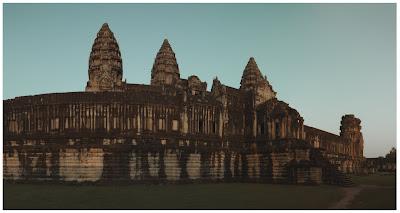 angkor wat inner court, cambodia