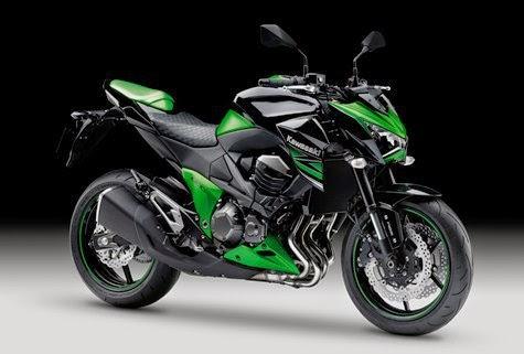 Kawasaki z250 motor naked dari Kawasaki