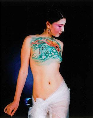 Body Painting Paling Seksi Menarik
