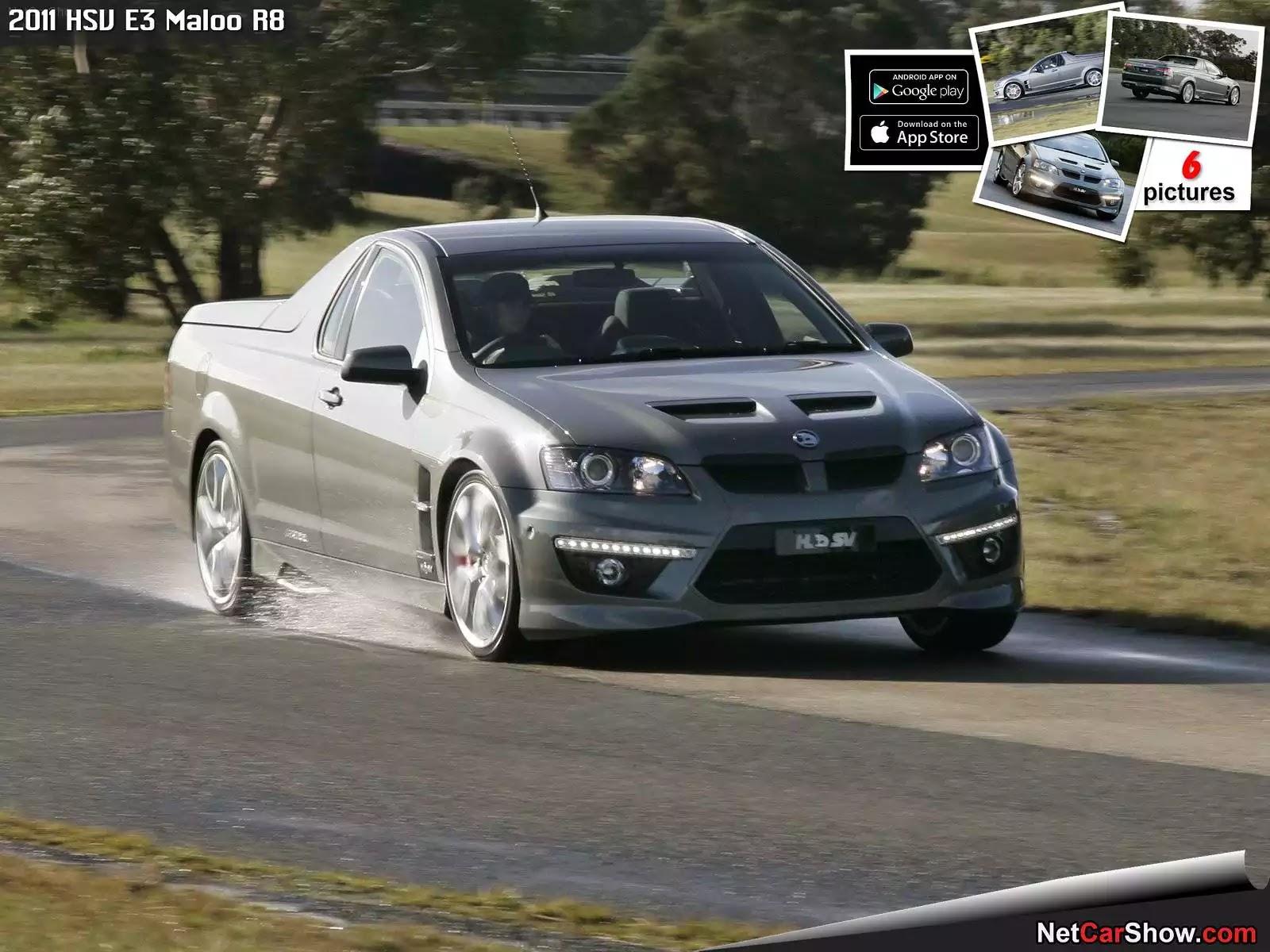 Hình ảnh xe ô tô HSV E3 Maloo R8 2011 & nội ngoại thất