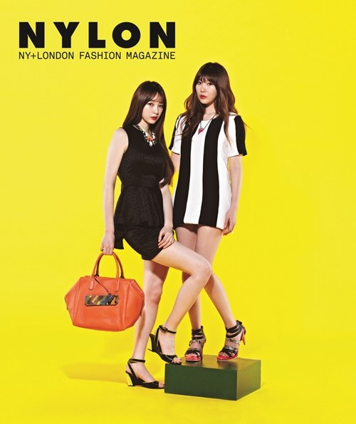 Davichi Majalah Nylon 03