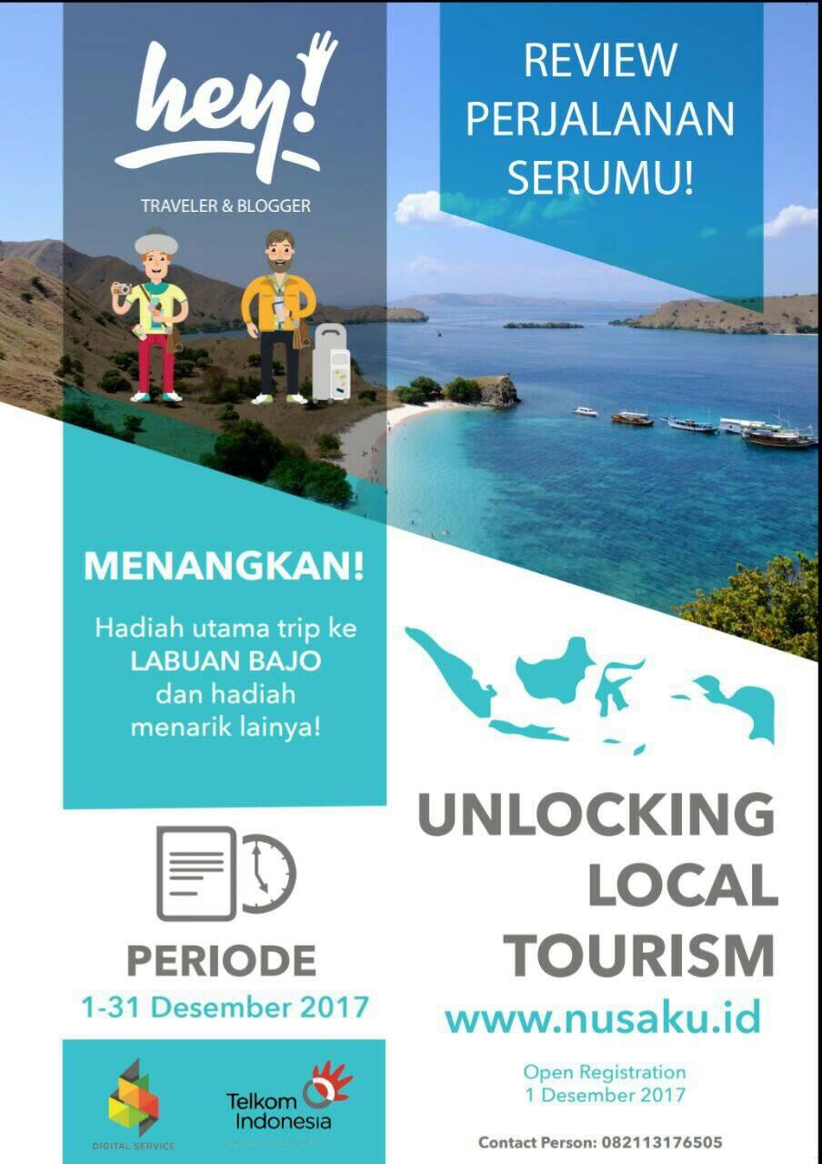 [Gratis] Lomba Menulis Lokasi Pariwisata di Indonesia Nasional 2018, Hadiah 15 JT
