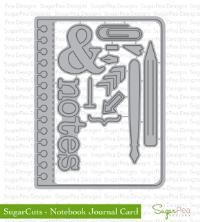 SugarCuts Notebook Journal Card