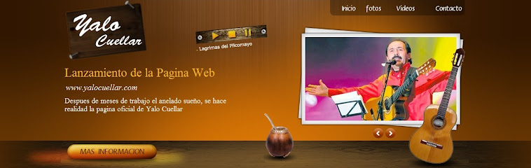 SITIO WEB OFICIAL - YALO CUELLAR
