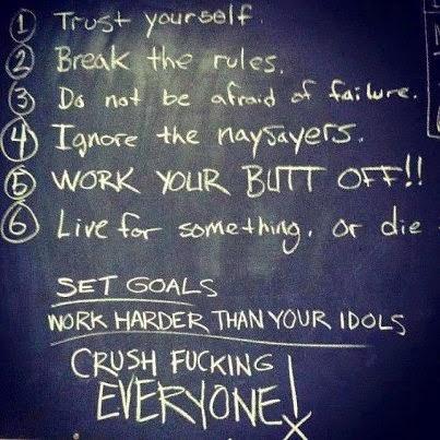 arnold schwarzenegger six rules