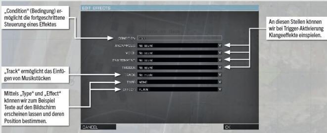 arma 3 how to make a tirgger tirgger a sound