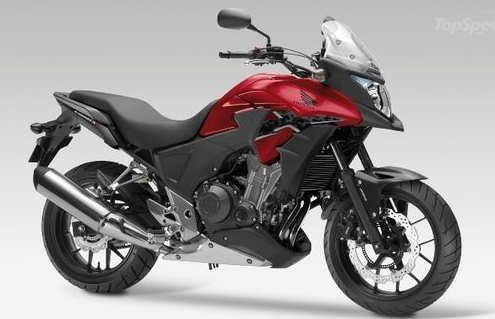 CB500X-warna merah