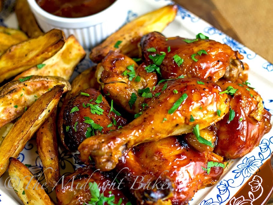 Slow Cooker Fruity BBQ Chicken #SlowCooker #CrockPot #BBQChickenRecipe #chicken