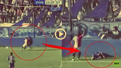 لاعب أرجنتيني شاب يلقى حتفه في مباراة كرة قدم
