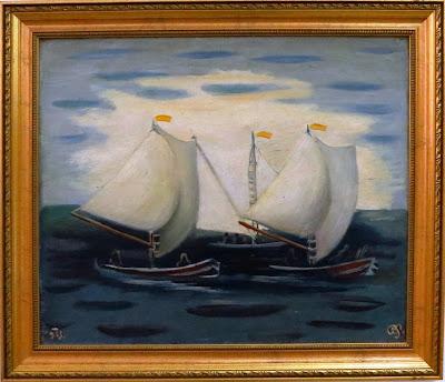 Роман Сельский, Лодки на Висле, 1933