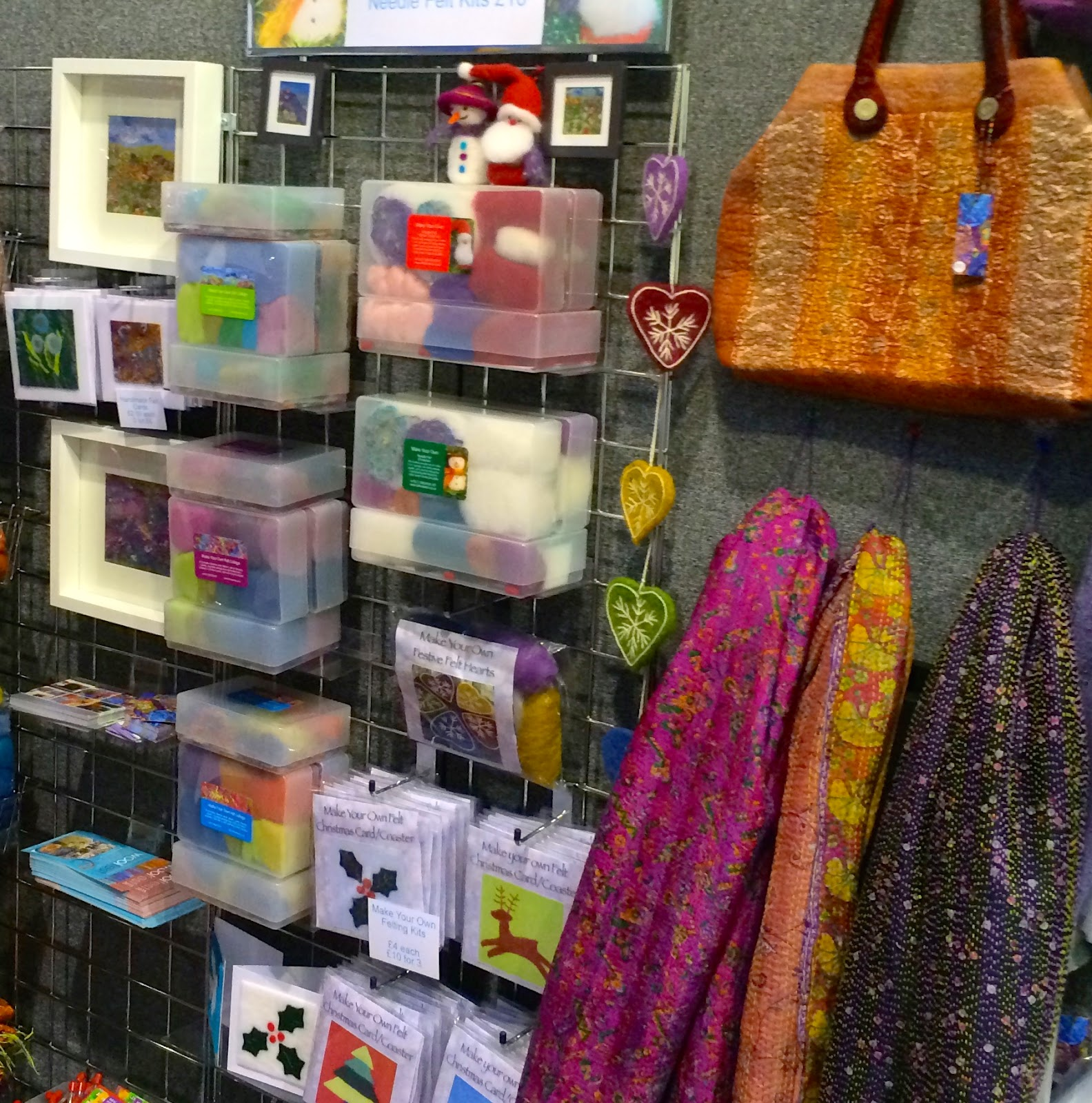 Foxglove Felts: Harrogate Knitting and Stitching Show 2015 and two free ticke...