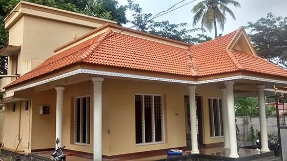 Renovation house model for an old house kerala home Old home renovation in kerala