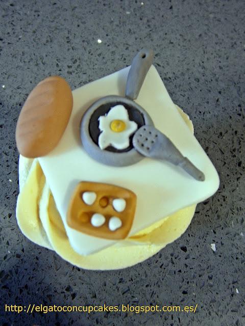 cupcakes sartén