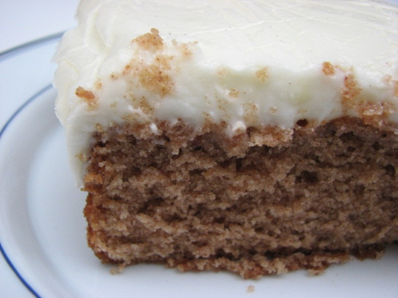 Buttermilk Cake With Spiced Vanilla Icing Recipes — Dishmaps