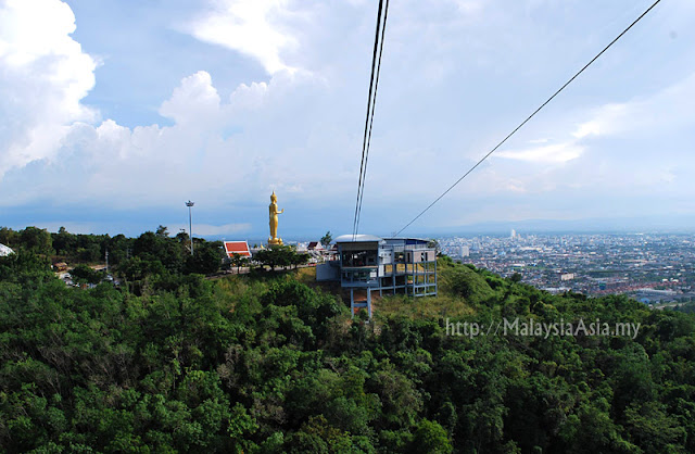 Hat Yai Cable Car in Thailand