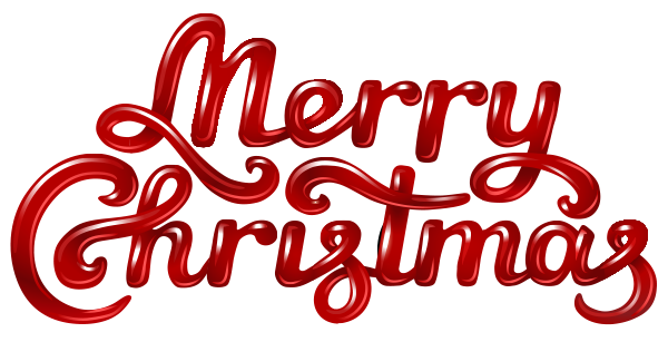 Merry Christmas with Cool Lettering