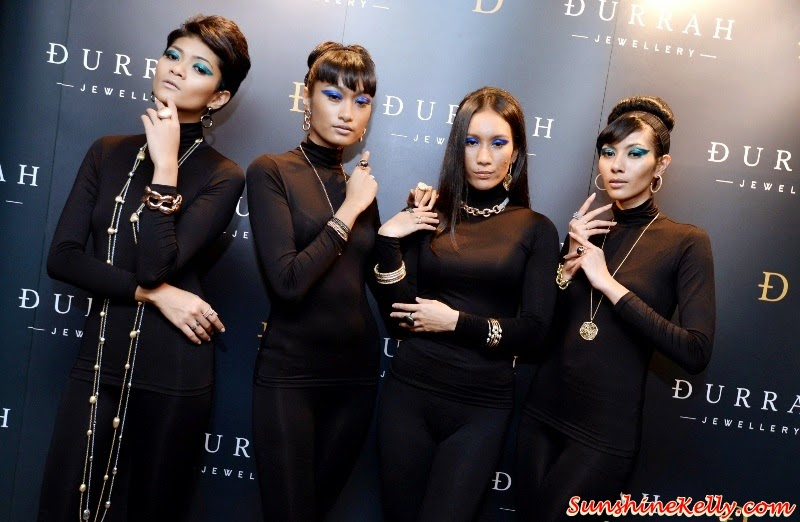 Durrah Jewellery Debut Collection in Malaysia, Durrah Jewellery, Durrah, Durrah Khalil, Jewellery Designer, Shangri La Hotel Kuala Lumpur, Snake, Pebble, Spring, Dicso, Chains, Italian artisans, London Designer