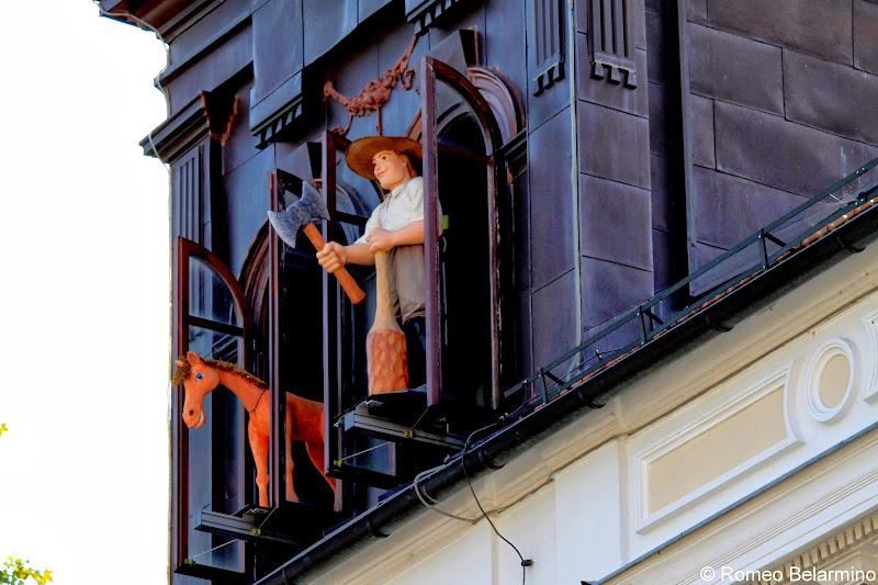 Ljubljana Puppet Theatre Clock Ljubljana Slovenia